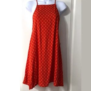 Lulu's Tunic Dress Orange size medium NWT sundress